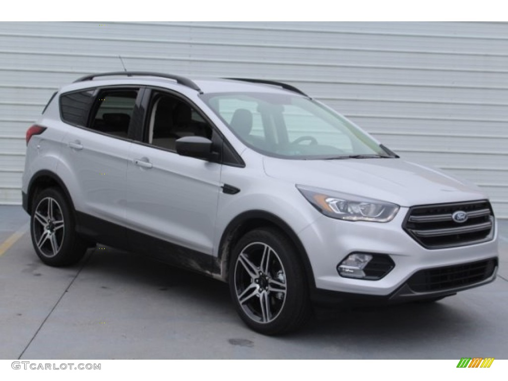 2019 Escape SEL - Ingot Silver / Medium Light Stone photo #2