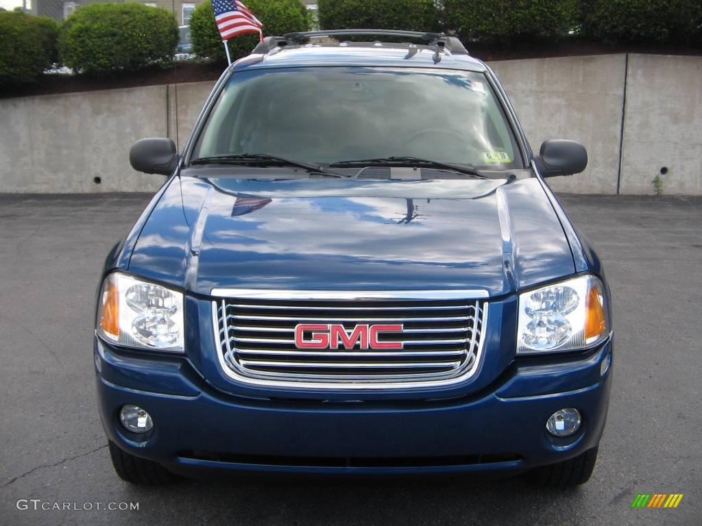 2006 envoy xl sle 4x4 superior blue metallic ebony black photo 1