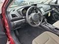 Ivory Interior Photo for 2019 Subaru Impreza #130589253
