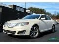 White Suede 2009 Lincoln MKS Sedan