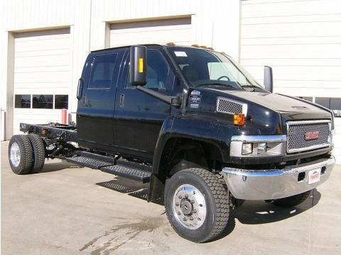 2009 GMC C Series Topkick C5500 Crew Cab 4x4 Chassis Data, Info and Specs