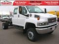 Summit White - C Series Topkick C5500 Crew Cab 4x4 Chassis Photo No. 1