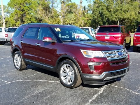 2019 Ford Explorer Limited Data, Info and Specs
