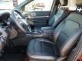 Medium Black Front Seat Photo for 2019 Ford Explorer #130628761