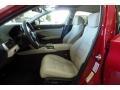 Front Seat of 2019 Accord EX-L Sedan
