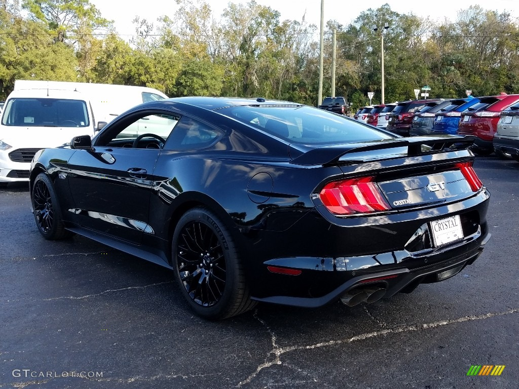 2019 Mustang GT Fastback - Shadow Black / Ebony photo #3