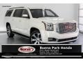 White Diamond Tricoat 2015 GMC Yukon XL SLT 4WD