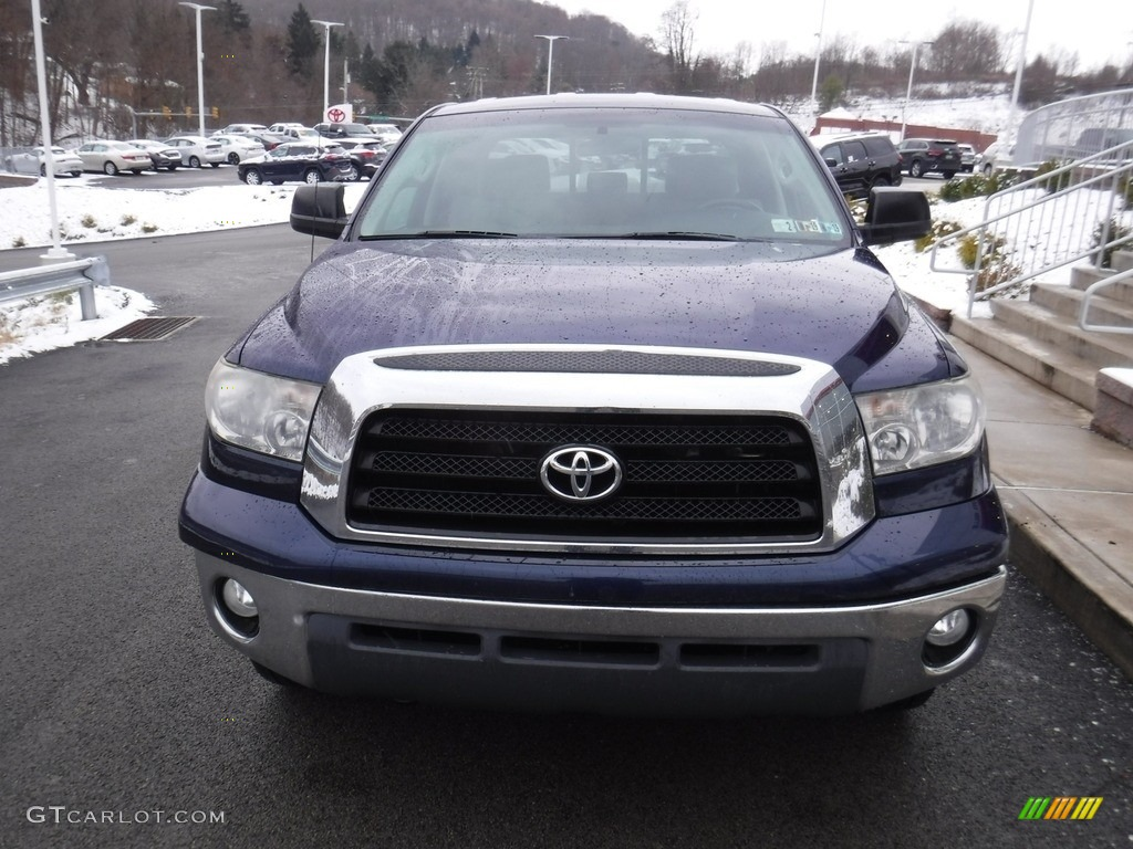 2008 Tundra SR5 TRD Double Cab 4x4 - Nautical Blue Metallic / Graphite Gray photo #5
