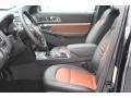 Medium Black/Desert Copper Front Seat Photo for 2019 Ford Explorer #130644168