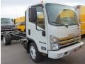 White 2009 Isuzu N Series Truck NPR HD