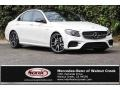 designo Diamond White Metallic 2018 Mercedes-Benz E 43 AMG 4Matic Sedan
