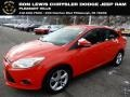 2013 Race Red Ford Focus SE Sedan #130656799