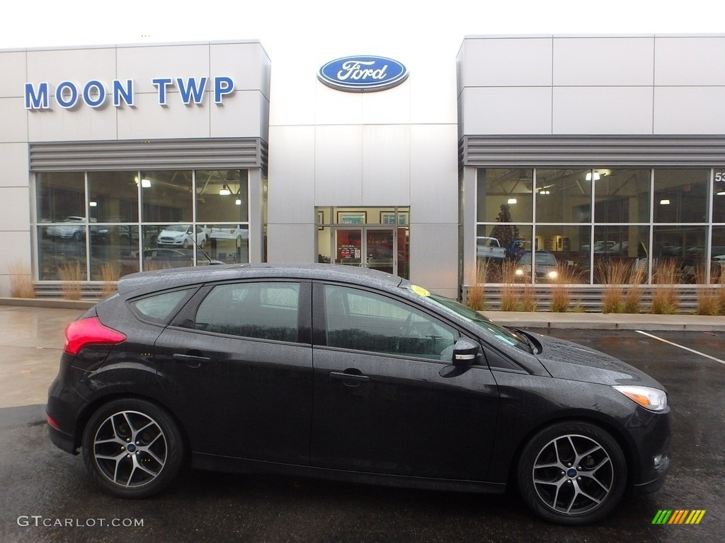 Tuxedo Black Metallic Ford Focus