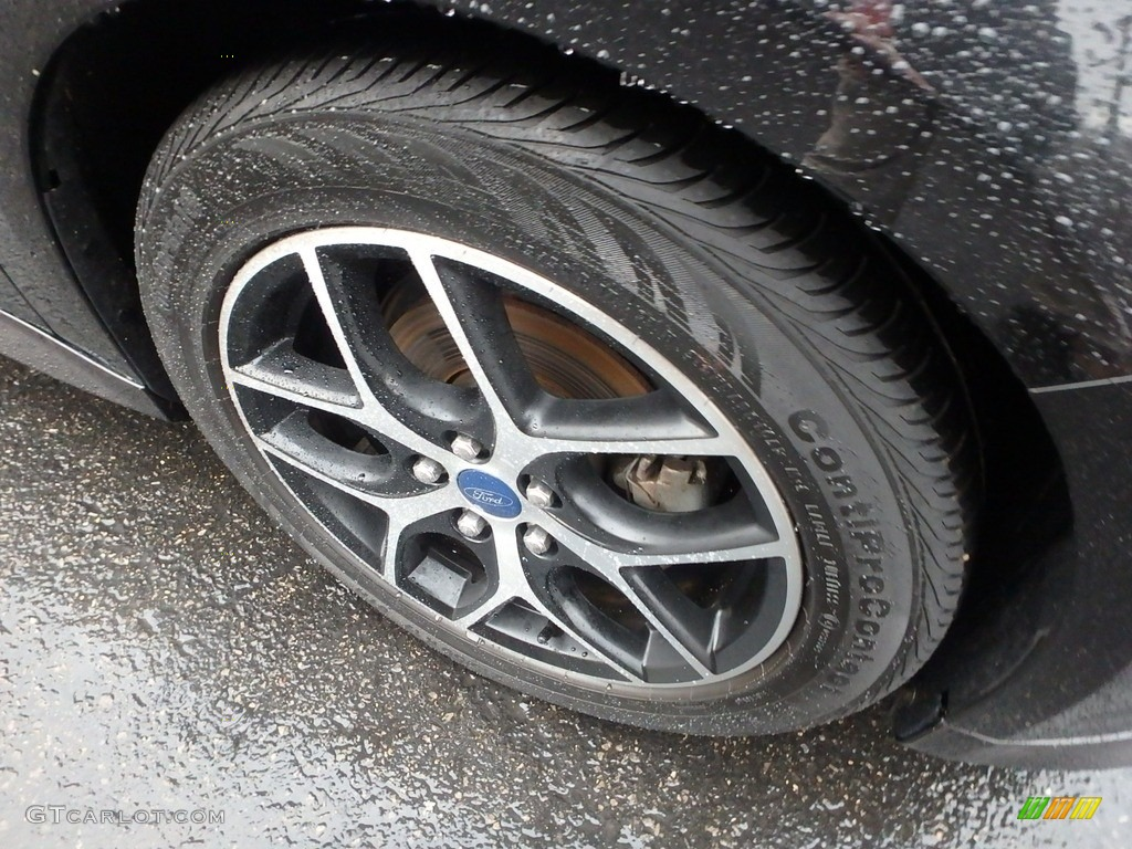 2015 Focus SE Hatchback - Tuxedo Black Metallic / Charcoal Black photo #10