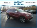 Deep Cherry Red Crystal Pearl 2014 Jeep Grand Cherokee Limited