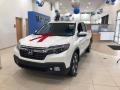 White Diamond Pearl 2019 Honda Ridgeline RTL AWD