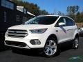 2019 White Platinum Ford Escape Titanium 4WD  photo #1