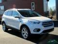 2019 White Platinum Ford Escape Titanium 4WD  photo #7