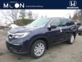 Obsidian Blue Pearl - Pilot LX AWD Photo No. 1