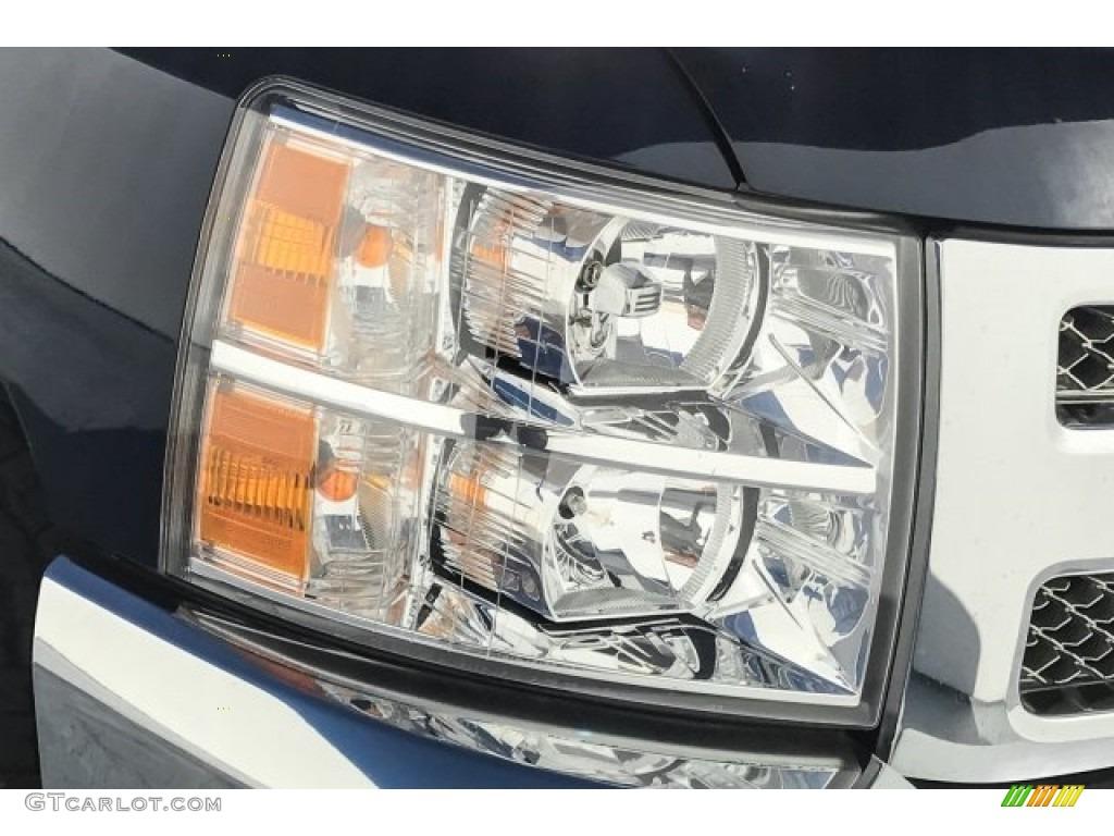 2012 Silverado 1500 LS Crew Cab - Imperial Blue Metallic / Dark Titanium photo #28