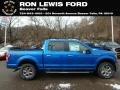 2019 Velocity Blue Ford F150 XLT SuperCrew 4x4  photo #1