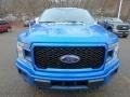 2019 Velocity Blue Ford F150 STX SuperCrew 4x4  photo #7