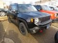 Black 2017 Jeep Renegade Trailhawk 4x4