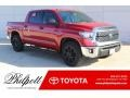 2019 Barcelona Red Metallic Toyota Tundra TSS Off Road CrewMax #130715568