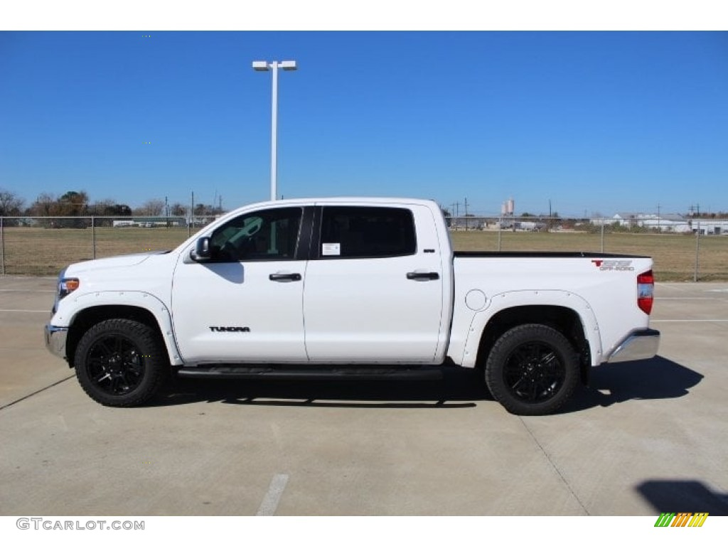 2019 Tundra TSS Off Road CrewMax - Super White / Black photo #6