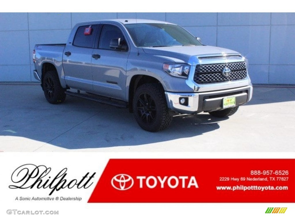 2019 Tundra TSS Off Road CrewMax - Cement / Black photo #1