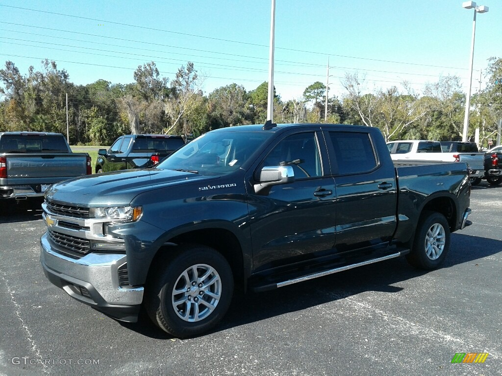 2019 Silverado 1500 LT Crew Cab - Shadow Gray Metallic / Jet Black photo #1