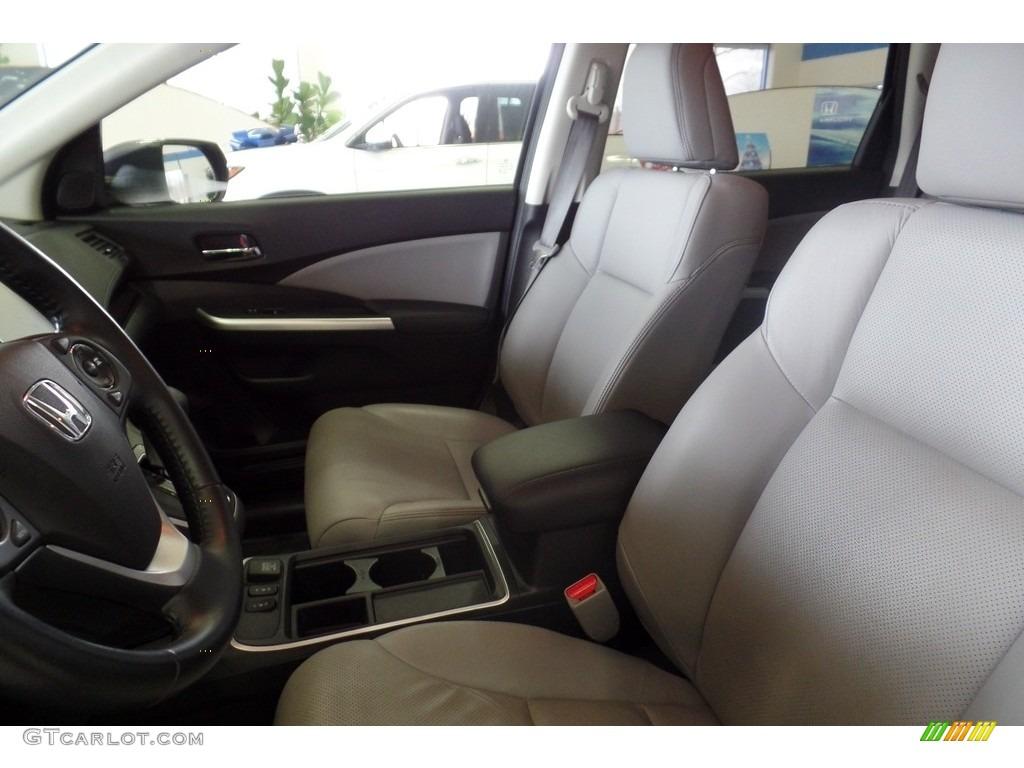 2015 CR-V Touring AWD - Modern Steel Metallic / Gray photo #16