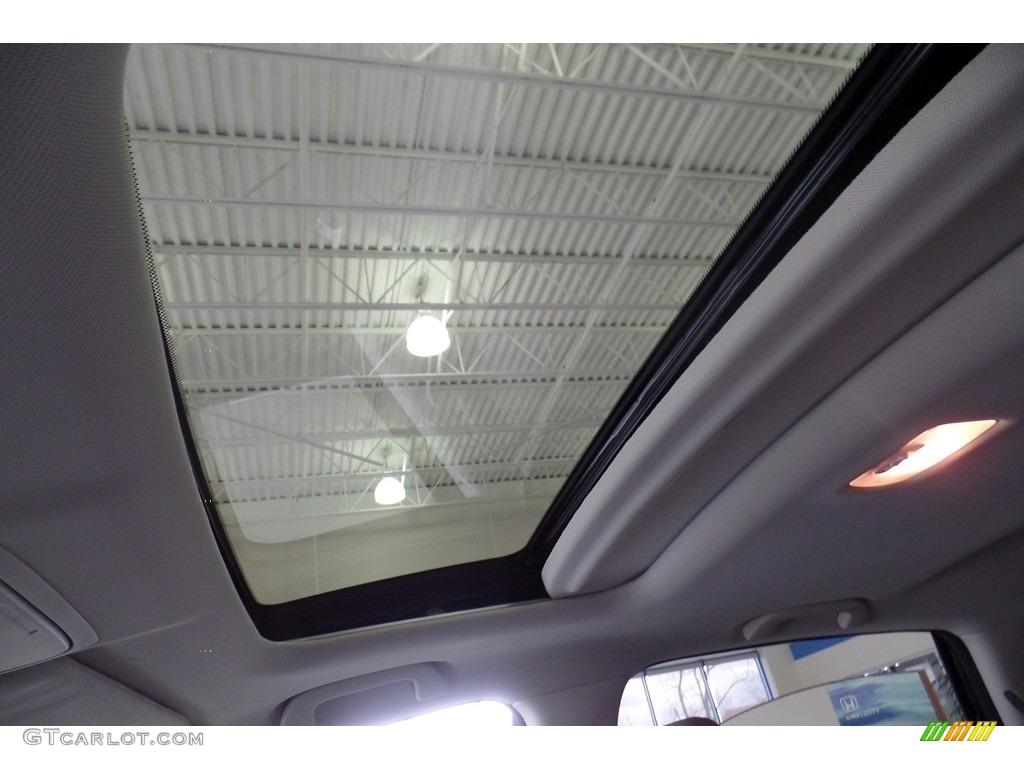 2015 CR-V Touring AWD - Modern Steel Metallic / Gray photo #17