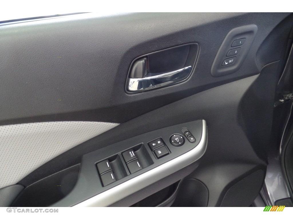 2015 CR-V Touring AWD - Modern Steel Metallic / Gray photo #22
