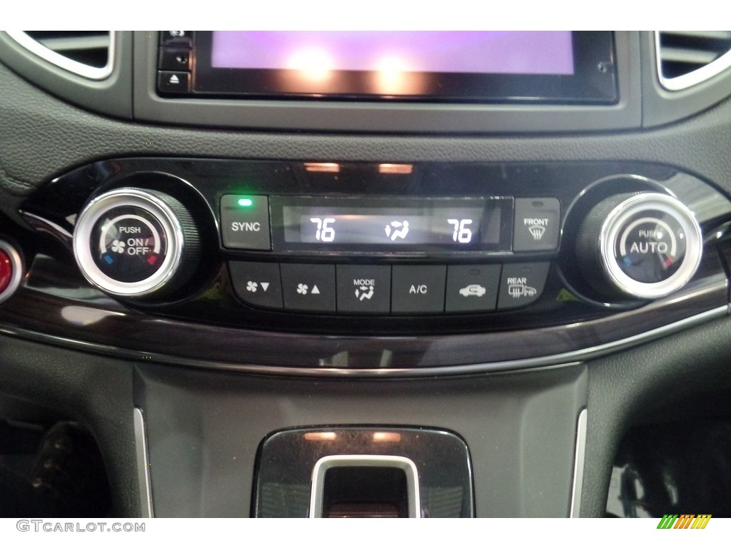 2015 CR-V Touring AWD - Modern Steel Metallic / Gray photo #29