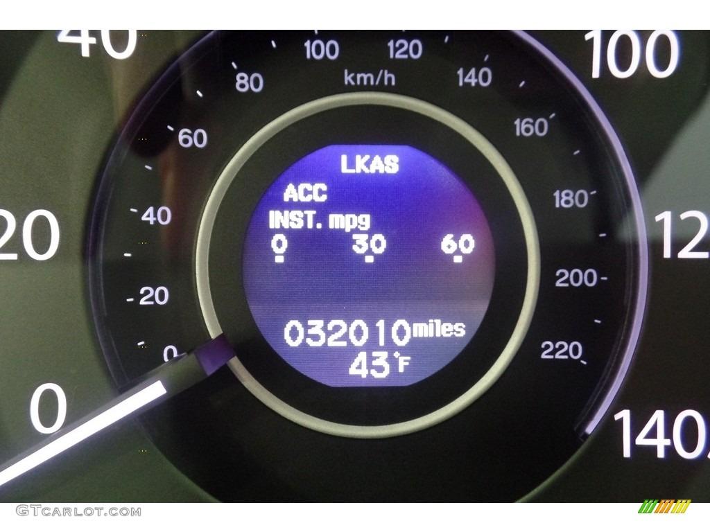 2015 CR-V Touring AWD - Modern Steel Metallic / Gray photo #34