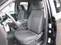 Jet Black Front Seat Photo for 2019 Chevrolet Silverado 1500 #130786416