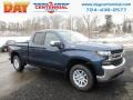 2019 Northsky Blue Metallic Chevrolet Silverado 1500 LT Z71 Double Cab 4WD  photo #1