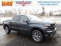 2019 Shadow Gray Metallic Chevrolet Silverado 1500 RST Crew Cab 4WD  photo #1