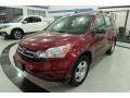 2010 Tango Red Pearl Honda CR-V LX AWD  photo #1