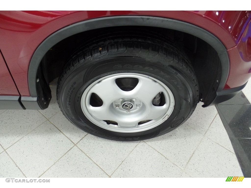 2010 CR-V LX AWD - Tango Red Pearl / Gray photo #5