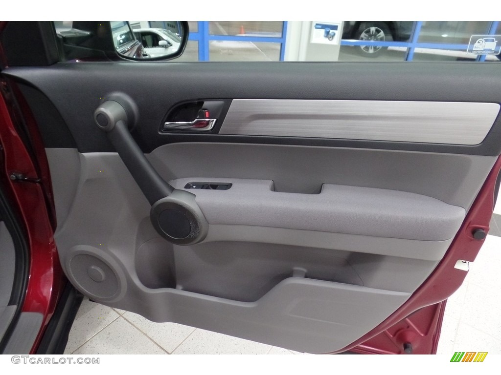 2010 CR-V LX AWD - Tango Red Pearl / Gray photo #14