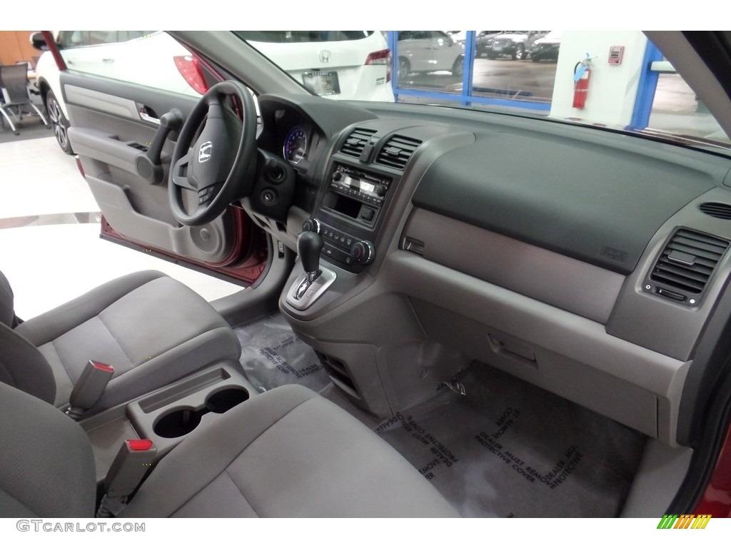 2010 CR-V LX AWD - Tango Red Pearl / Gray photo #15