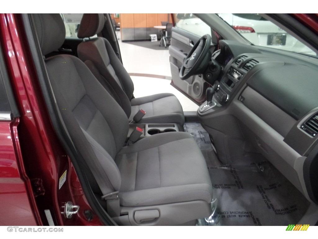 2010 CR-V LX AWD - Tango Red Pearl / Gray photo #16