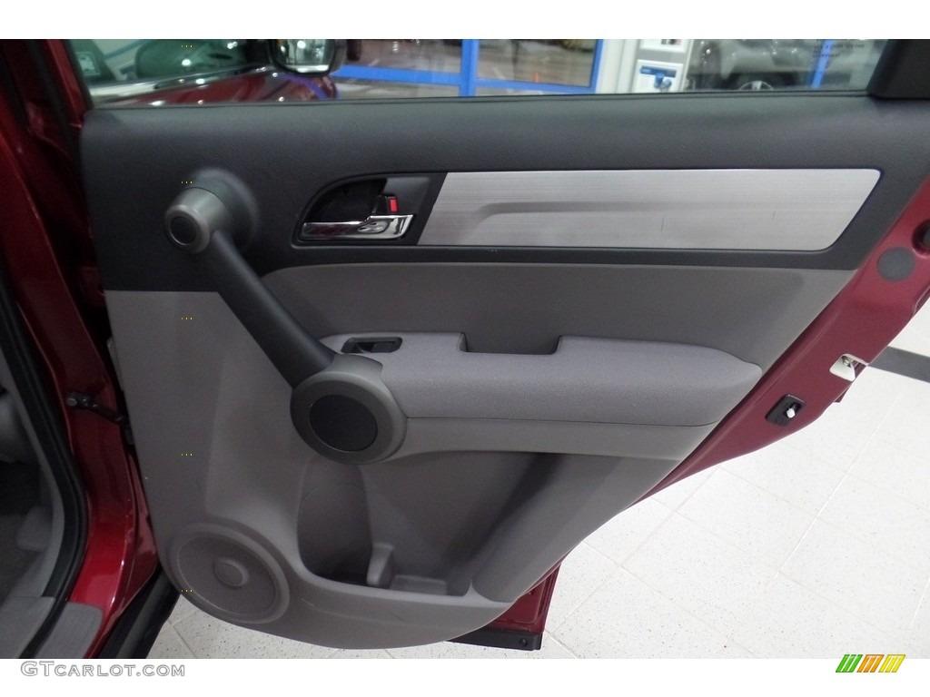 2010 CR-V LX AWD - Tango Red Pearl / Gray photo #17