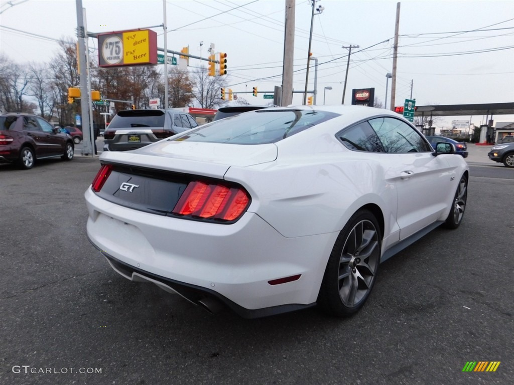 2016 Mustang GT Premium Coupe - Oxford White / Red Line photo #6