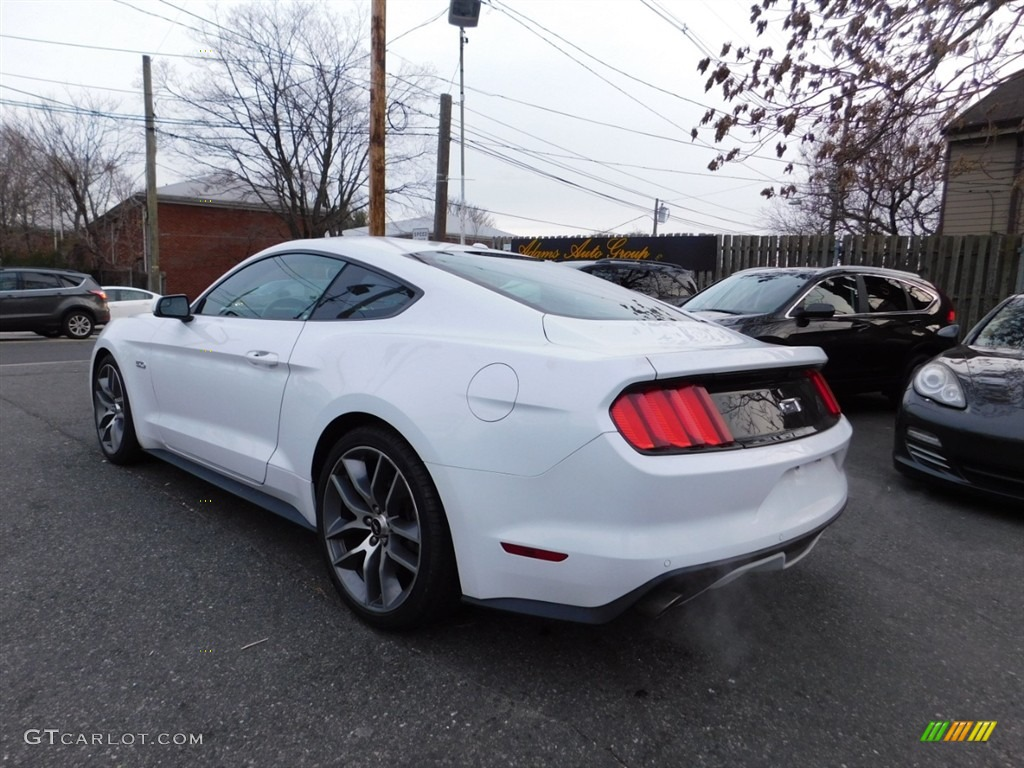 2016 Mustang GT Premium Coupe - Oxford White / Red Line photo #7