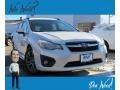 Satin White Pearl 2013 Subaru Impreza 2.0i Sport Premium 5 Door