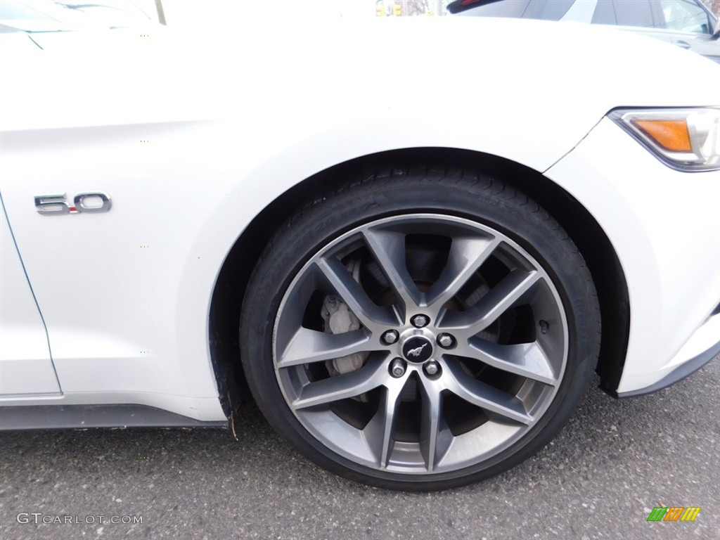 2016 Mustang GT Premium Coupe - Oxford White / Red Line photo #20