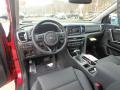 2019 Sportage EX AWD Black Interior